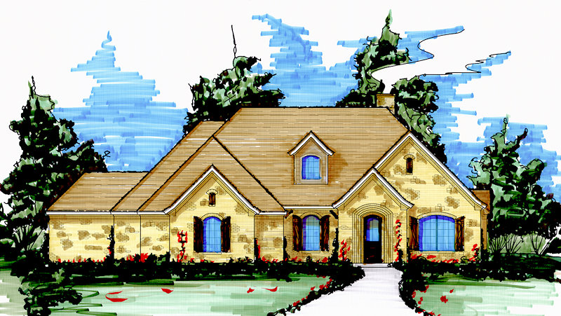 S2444l texas house plans over 700 proven home designs for Korel home designs online