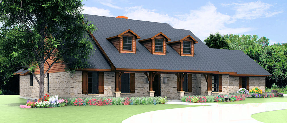 S2695r texas house plans over 700 proven home designs for House plans by korel home designs