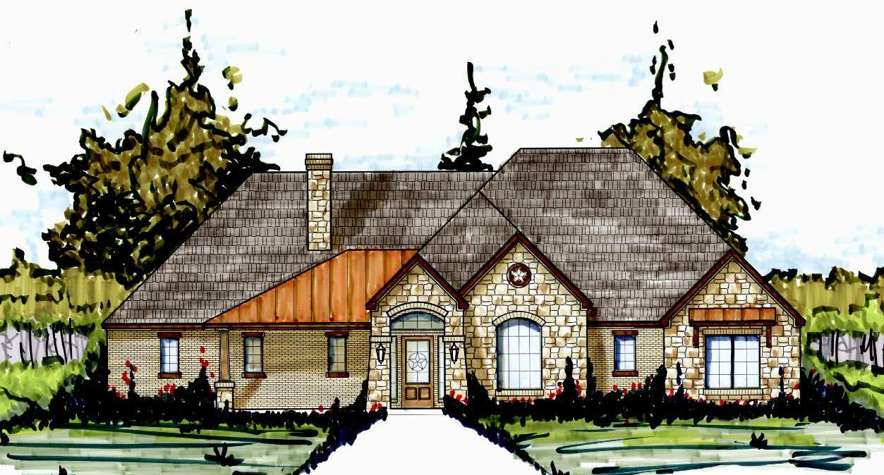 S2575r texas house plans over 700 proven home designs for Korel home designs online