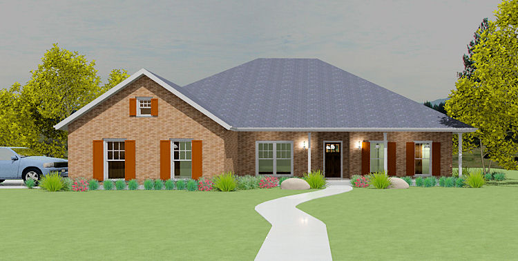 S2109l texas house plans over 700 proven home designs for Korel home designs
