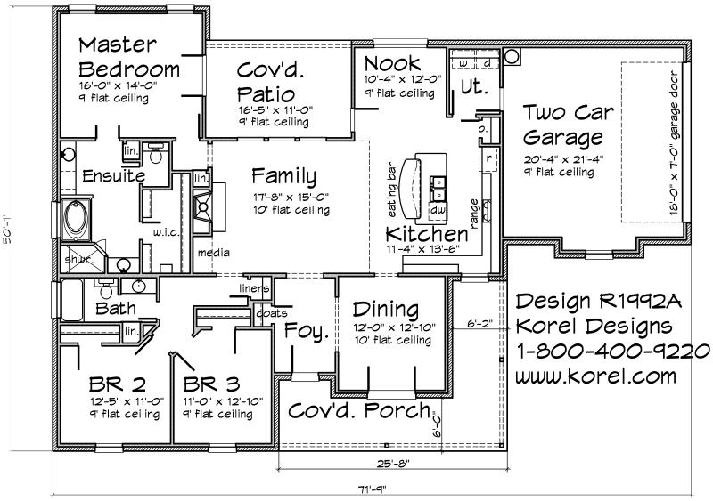country house plan r1992a | texas house plans - over 700 proven home