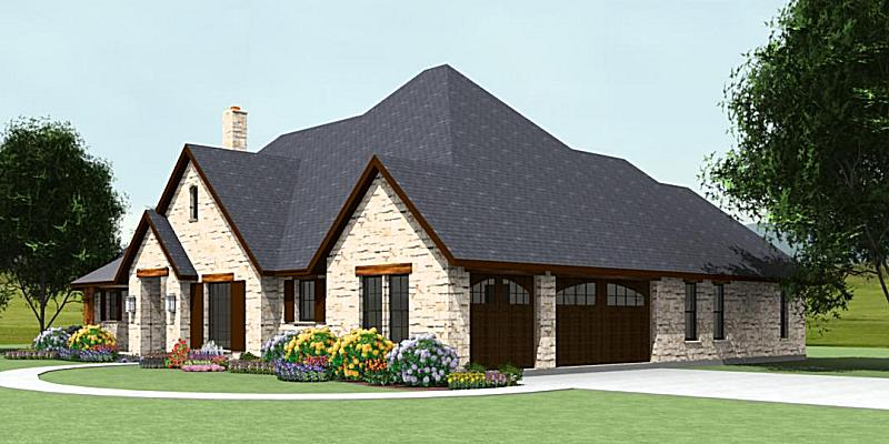 Country Plan S2622R | Texas House Plans - Over 700 Proven Home ...