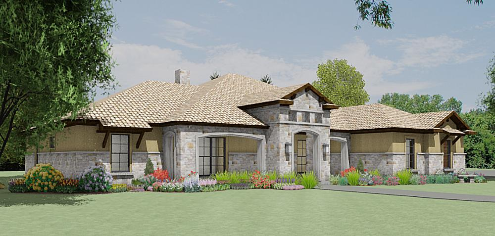 S3450r Texas Tuscan Design Texas House Plans Over 700 Proven Home Designs Online By Korel