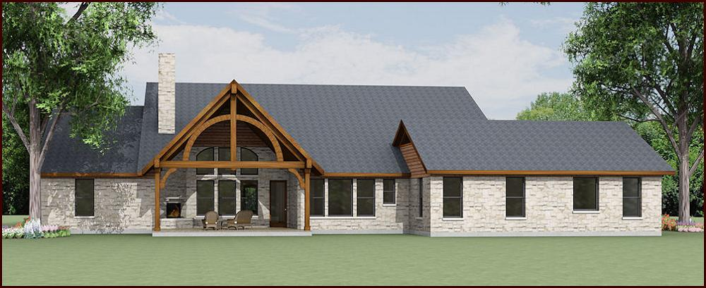 Country Home Design S2997L | Texas House Plans - Over 700 Proven ...