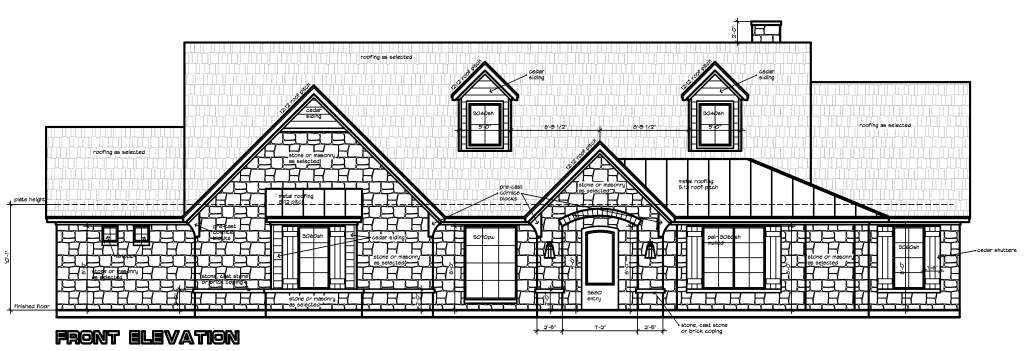 S2750L | Texas House Plans - Over 700 Proven Home Designs Online ...