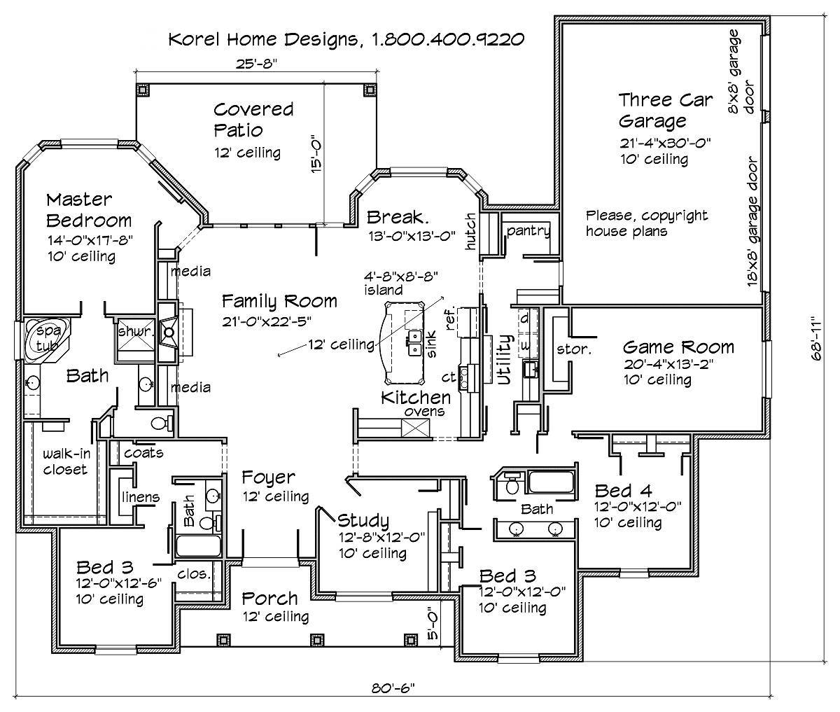 Texas House Plans - Over 700 Proven Home Designs