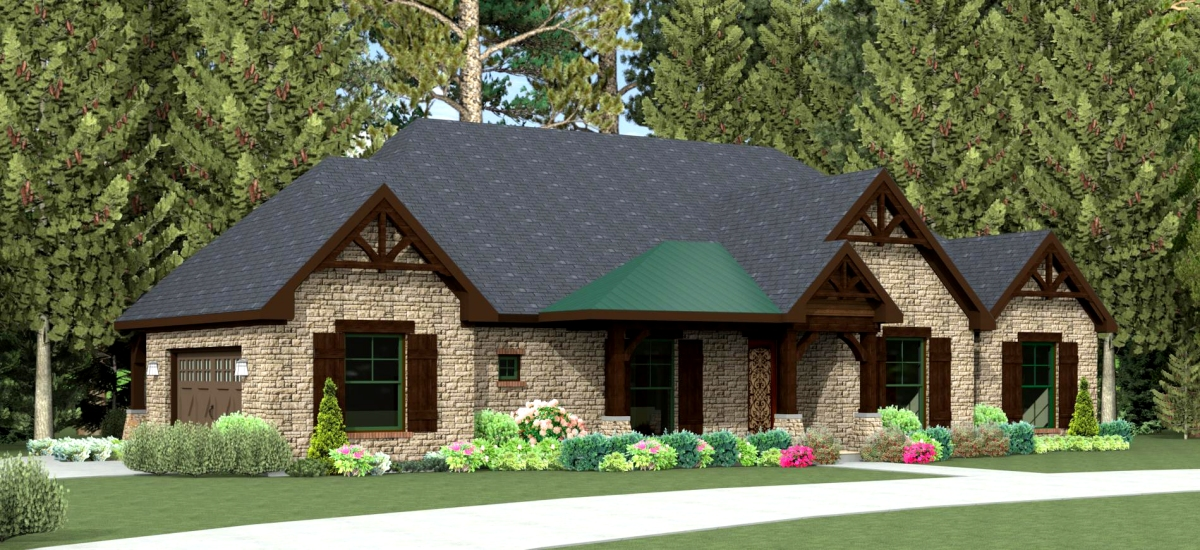 Texas house plan u2974l texas house plans over 700 for Korel home designs