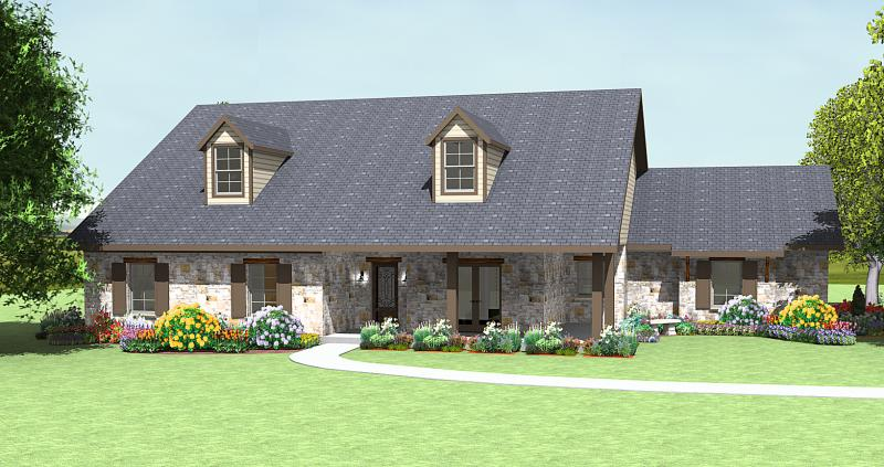 Texas hill country german house plans for Texas hill country home designs
