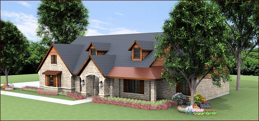 House plans texas hill country ranch home design and style for Country style homes floor plans