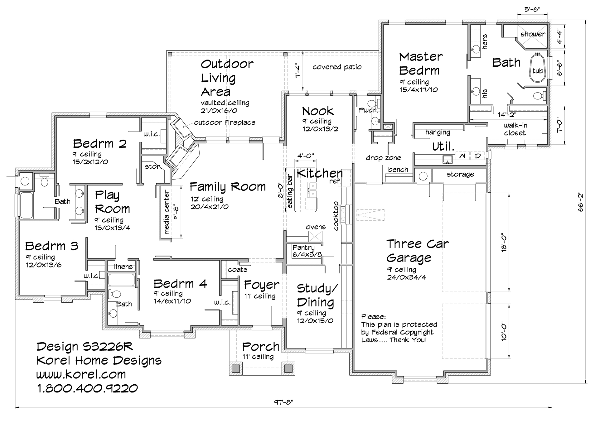 S3226r Texas House Plans Over 700 Proven Home Designs